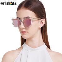 威古氏太阳镜女 防紫外线款大框修脸偏光墨镜太阳镜9068LS