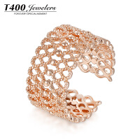 T400开口戒指女日韩个性潮人食指指环简约百搭创意首饰品装饰戒指  4495