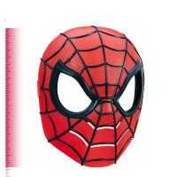 孩之宝 漫威 蜘蛛侠英雄面具角色扮演 儿童玩具礼物摆件