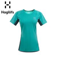 Haglofs火柴棍女款双层排汗速干运动T恤602873