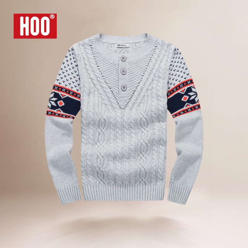 【hoo毛衣/针织衫】hoo男童秋装上衣儿童毛衣男孩