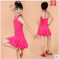新款女童少儿练功服芭蕾六一儿童舞蹈服装幼儿演出服拉丁舞服装
