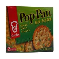 嘉顿(Garden) 香葱薄饼 芝麻薄饼 225g 盒装 两种口味任选