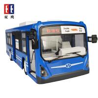【当当自营】双鹰巴士模型仿真城市公交车遥控车可充电儿童玩具E635-001蓝色