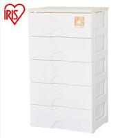 爱丽思IRIS直销 5层抽屉柜整理柜衣物 树脂收纳柜RG-555B