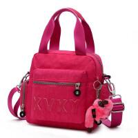 【支持礼品卡支付】女包单肩包斜挎小方包多功能提挎包防水尼龙布妈咪包休闲运动包