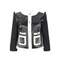 MK MICHAEL KORS迈克・科尔斯多色时尚拼色设计女士外套银泰