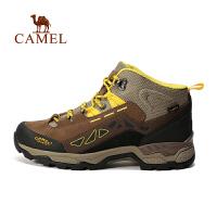 camel骆驼户外登山鞋 男款高帮防滑耐磨户外鞋登山鞋