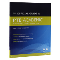 PTE学术英语考试指南 英文原版 The Official Guide to PTE Academic  第二版 CD-ROM