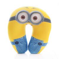 卡通可爱小黄人玩具U型枕头龙猫公仔睡觉靠垫玩偶布娃娃婚庆公仔