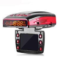 征服者CX889s行车记录仪电子狗一体机 1080P高清 区间测速全新升级超强版