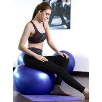 春夏专业训练高腰运动裤女跑步健身瑜伽长裤速干锦纶跑步九分紧身弹力裤