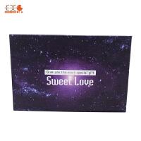 星空棒棒糖 硬质糖果(创意星球黑糖味) 18g*6支 礼盒装 情人节生日创意礼物