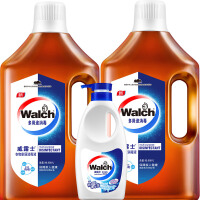 Walch/威露士 衣物家居多用途消毒液1.6Lx2瓶+手洗洗衣液500g瓶装 衣物家居瓶装消毒水