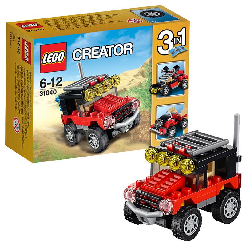 [当当自营]LEGO 乐高 Creator创意百变系列 沙漠赛车 积木拼插儿童益智玩具31040【当当自营】适合6-12岁,65pcs小颗粒积木