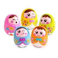 点头不倒翁娃娃婴幼儿宝宝益智玩具1岁婴儿玩具 0-3-6个月