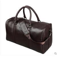 横款商务包旅行包  真皮男包  男士手提包  大容量斜挎包皮包   背包