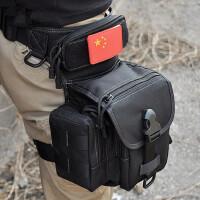 户外战术腿包多功能男腰挂军迷装备特种兵腿挂骑行工具包