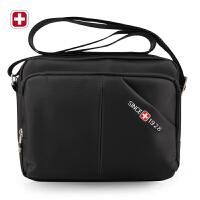 瑞士军刀 单肩包男 时尚潮流斜挎包 单肩背包 平板电脑包 运动包SA1016