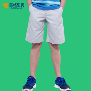 中大童男童短裤夏纯棉儿童五分裤子2017夏装男孩休闲薄款外穿中裤