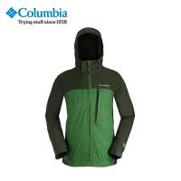 【领卷满400减100】Columbia/哥伦比亚男款防水薄款夹克单层冲锋衣PM5810