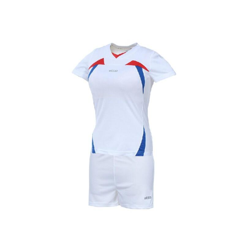 运动服装 运动套装 世达运动套装 etto英途 女子短袖排球服 套装 排球