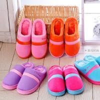 【支持礼品卡支付】女拖鞋棉拖鞋防滑毛毛绒半包跟鞋月子鞋木地板保暖毛毛拖鞋