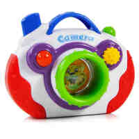贝乐康 儿童益智乐拍照相机 音乐相机玩具 儿童益智玩具