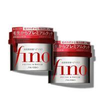 【2支特惠装】日本 资生堂/Shiseido Fino发膜230g护发素 头发护理 倒模营养 修复改善毛躁