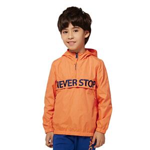 派克兰帝童装 儿童时尚套头夹克男童女童秋季外套