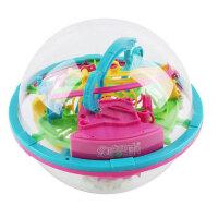 爱可优 3D立体迷宫球幻智力球挑战智力 儿童益智玩具球 创意玩具 100关929幻智