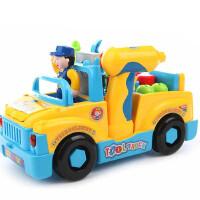 儿童益智玩具2-3-4-5岁男孩宝宝拆装修理维修玩具车工程车