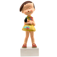 稀奇艺术向京签名限量版雕塑摆件《别担心》搭配礼物包装盒