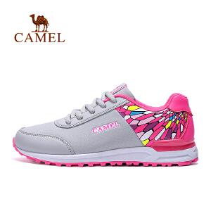 camel骆驼户外越野跑鞋 女款防滑透气运动跑步鞋