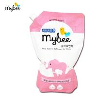 【澳门直购】Mybee新安怡曼贝婴儿衣物柔顺剂补充装1.2L