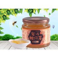 江山 蜂蜜柚子茶 蜜炼柚子茶500g*2瓶