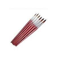支持货到付款 马利G1106尼龙水彩画笔/水彩颜料画笔 6支装 水彩笔