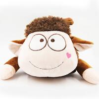 礼无忧 羊羊暖水袋 自动断电 双插手暖手宝充电 冬季生日礼物 送女生女友 圣诞礼物