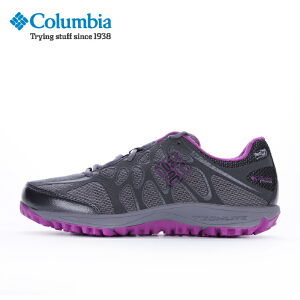 【领卷满400减100】Columbia哥伦比亚 户外女款防水透气越野跑鞋DL1191