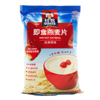 桂格(QUAKER) 即食燕麦片 经典原味 400g 袋装 粗粮谷物早餐