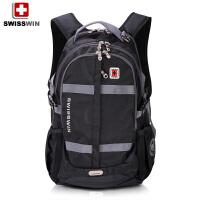 瑞士军刀双肩包男【可礼品卡支付】 大容量旅行包15.6寸电脑包 学生包 书包 潮SW8350