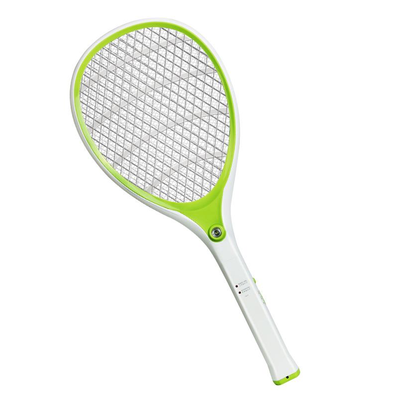 雅格电蚊拍充电式 灭蚊拍大号 安全家用多功能驱蚊拍苍蝇拍子yg-5614