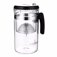 金灶 TP-200泡茶杯带把 功夫茶具玻璃茶壶玻璃杯过滤杯1000毫升