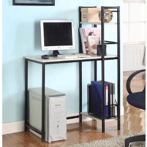 [当当自营]生活诚品 简适书桌(附书架)CJ44120-3 书桌 电脑桌 工作桌