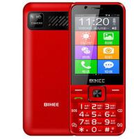 BIHEE A7按键智能手机百合A7电信4G双卡老人手机触屏带按键大电池