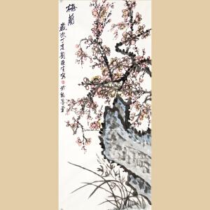刘臣生《梅、兰》刘臣生台湾著名美术家,中国美术协会会员,侨联总会理事