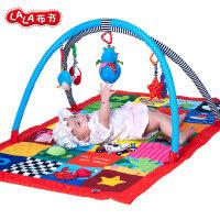 Lalababy/拉拉布书婴儿爬行垫游戏垫儿童玩具毯音乐支架欢乐海洋