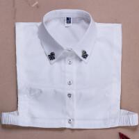 新款衬衫领韩版假领子女式百搭衬衣装饰衣领毛衣打底