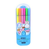 晨光文具 水彩笔 绘画笔 米菲果缤纷12色 涂鸦笔 可洗 FCP90136