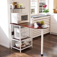 亿家达 厨房置物架微波炉架子多层架多功能创意厨房电器储物架收纳架落地